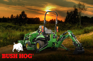 We work hard to provide you with an array of products. That's why we offer Bush Hog for your convenience.