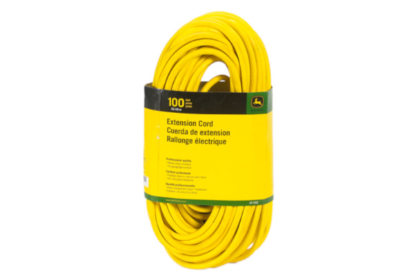 John Deere | Extension Cords | Model ET-1101-J Extension Cord, 50 ft. 16/3 SJEOOW