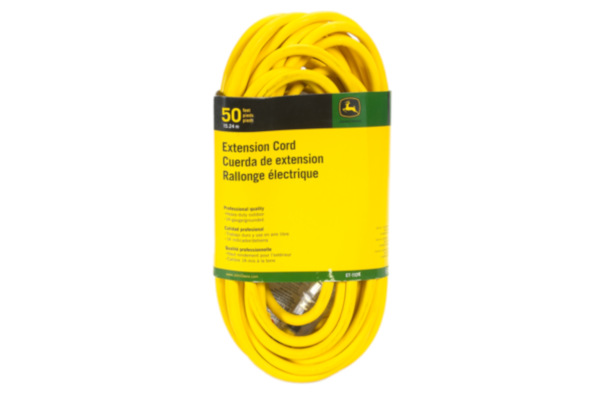 John Deere | Extension Cords | Model ET-1104-J Extension Cord, 50 ft. 14/3 SJEOOW