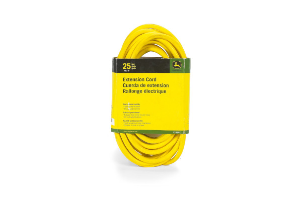 John Deere | Extension Cords | Model ET-1106-J Extension Cord, 25 ft. 12/3 SJEOOW