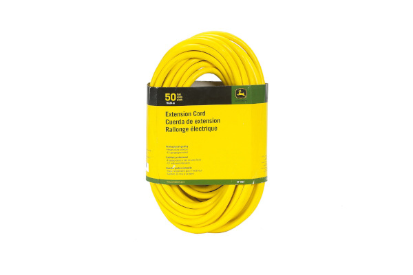 John Deere | Extension Cords | Model ET-1107-J  Extension Cord, 50 ft. 12/3 SJEOOW