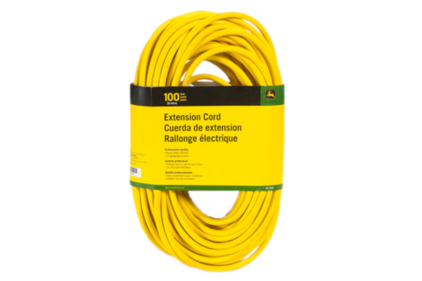 John Deere | Extension Cords | Model ET-1105-J Extension Cord, 100 ft. 14/3 SJEOOW