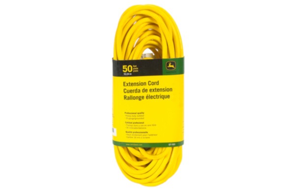 John Deere | Extension Cords | Model ET-1100-J Extension Cord, 25 ft. 16/3 SJEOOW