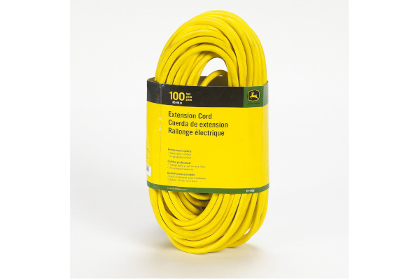 John Deere | Extension Cords | Model ET-1102-J Extension Cord, 100 ft. 16/3 SJEOOW