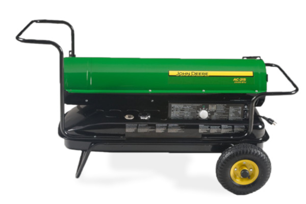 John Deere | Portable Heaters | Model AC-215 Kerosene Fired Portable Heater