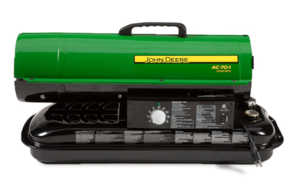 John Deere | Portable Heaters | Model AC-75 Kerosene Fired Portable Heater