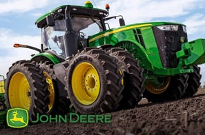 We work hard to provide you with an array of products. That's why we offer John Deere for your convenience.
