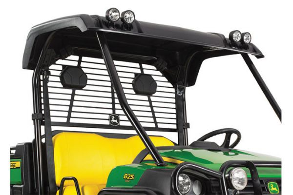 John Deere | OPS Poly Roof - Black | Model BM24116