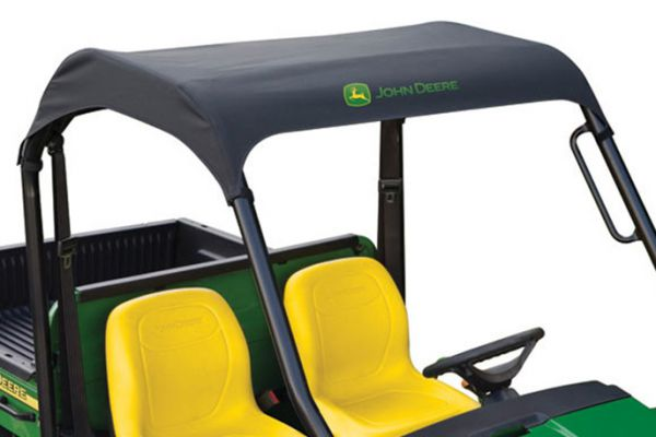 John Deere | OPS Soft Roof - Black | Model LP37048