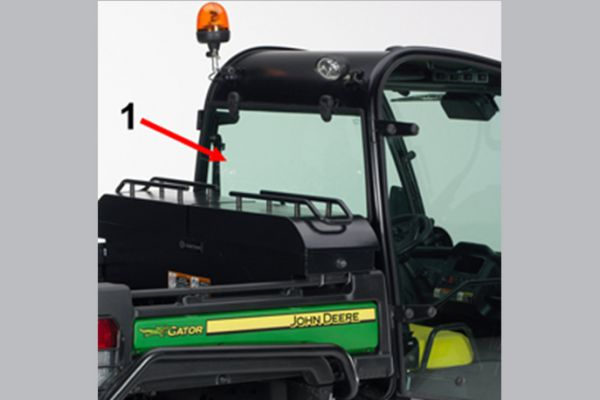 John Deere | Cabs | Rear Window Kit - Deluxe Cab