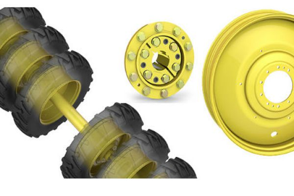 Unverferth | Dual and Triple | Model Direct-Axle Dual Wheels